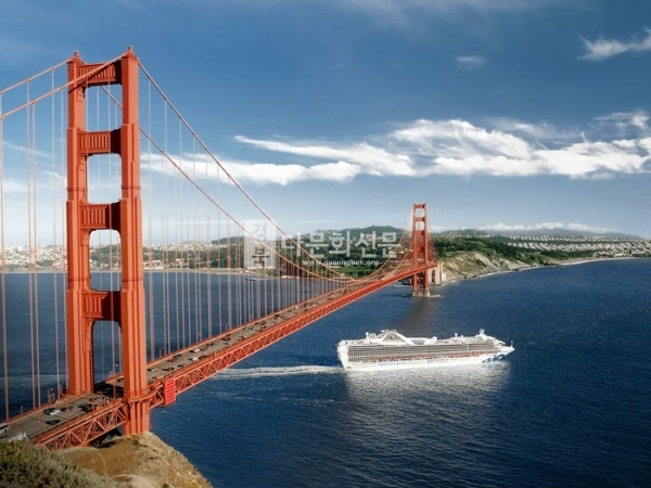 The Grand Princess cruise ship in the San Francisco Bay. Princess Cruises from BUSINESS INSIDER
